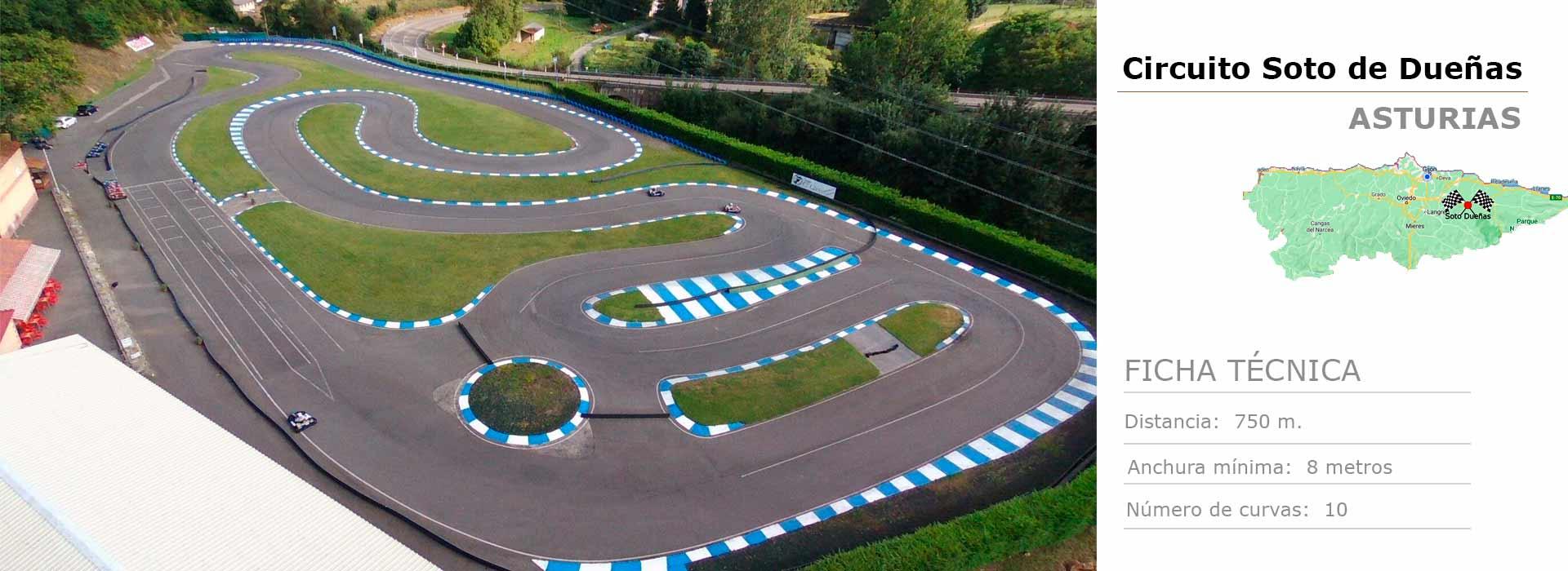 Circuito de karts en Asturias