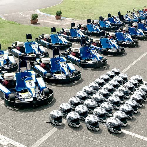 Alquiler de karts en pista de karting Soto de Dueñas