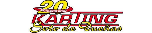 Logo Karting Soto Dueñas Asturias 20 aniversario