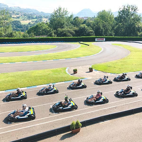 Tarifas grupos karting Asturias opción 2