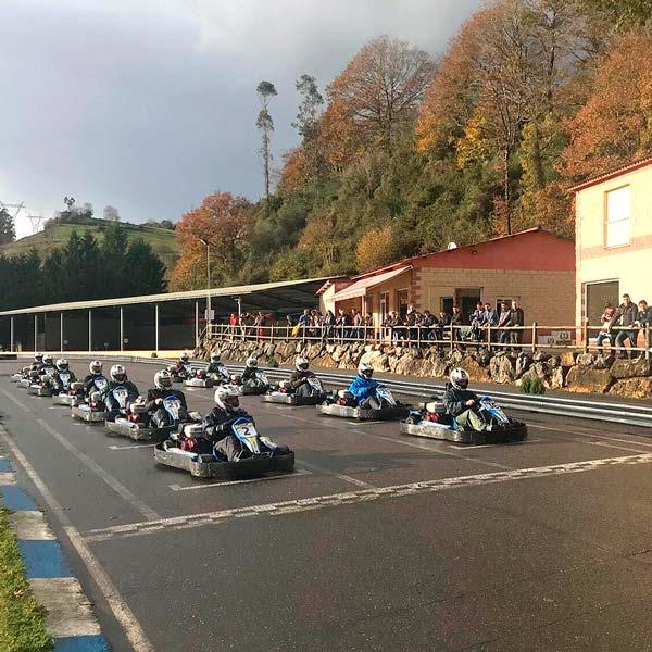 Opción 3 Tarifas grupos karts en Asturias